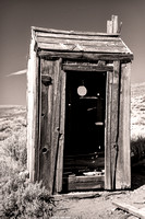 Bodie Outhouse B&W