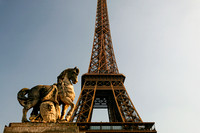 Eiffel Tower & Guard