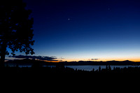 After Sunset At Klamath Lake