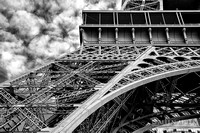 Eiffel Tower 5 BW