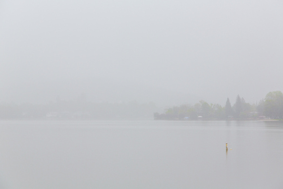 Lake Wildwood In Fog