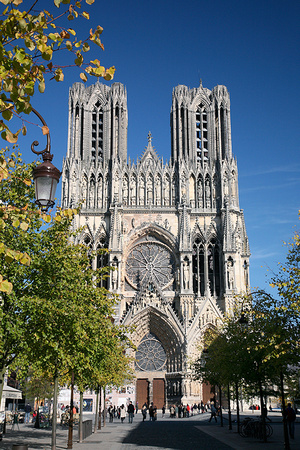 Reims 3 Cathedral