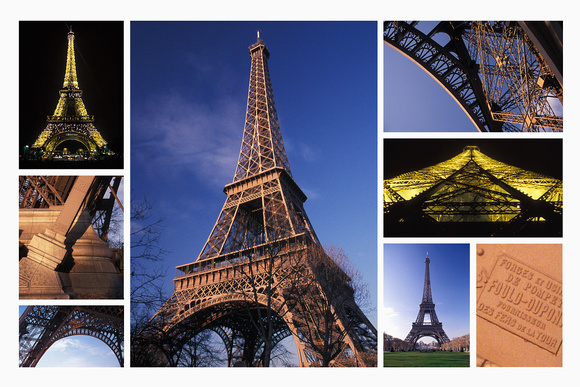 Eiffel Tower Montage