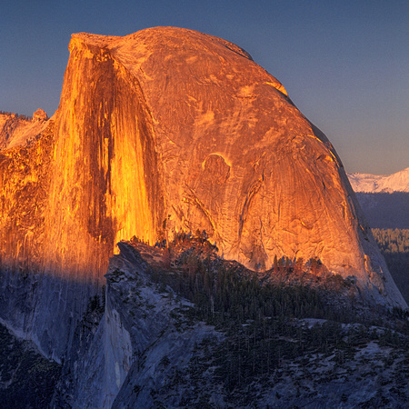 Half Dome Sunset III