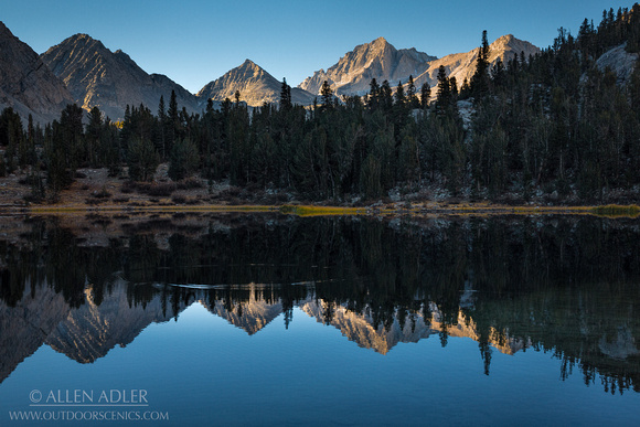 Reflections On Heart Lake